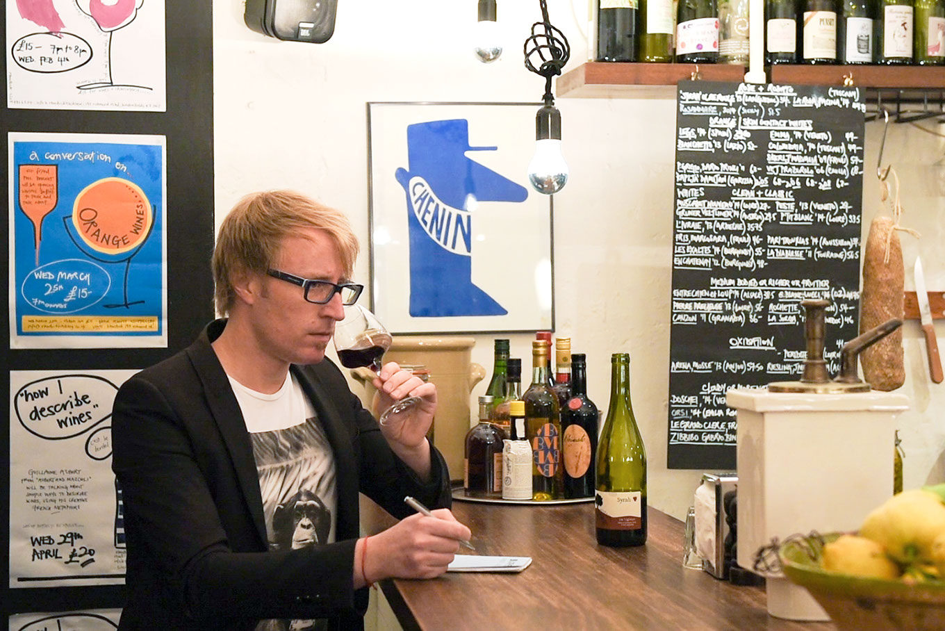 Christopher Cooper Wine & Drinks Expert | Print | Sarah Bayliss Photography Ltd